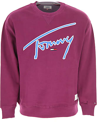 589a2f412 Tommy Hilfiger Sweatshirt for Men On Sale, Purple, Cotton, 2017, M XS