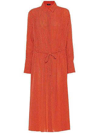 Joseph Evie floral silk-crêpe shirt dress