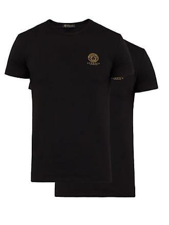 Versace Ensemble de deux T-shirts en coton stretch Medusa bbc2c354a4c