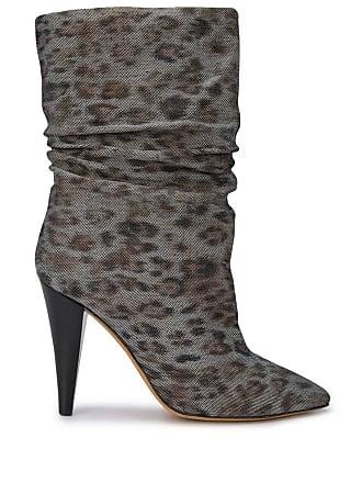 e7d03820487 Iro heeled animal print boots - Multicolour