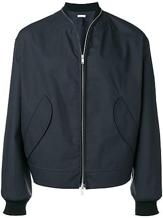 Jil Sander classic bomber jacket - Blue