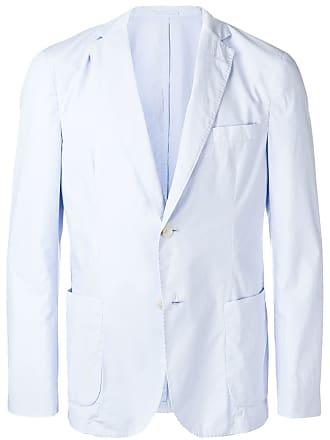 Officine Generale slim-fit blazer - Blue