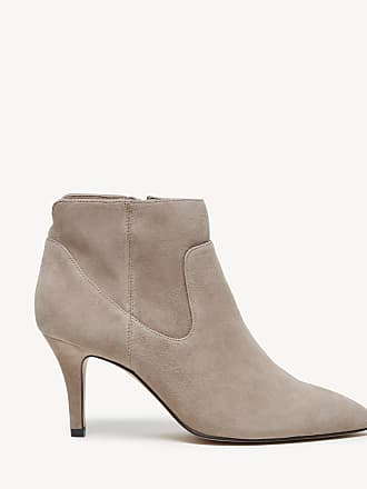Sole Society Womens Raphaela Dress Bootie Fall Taupe Size 5.5 Suede From Sole Society