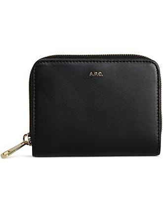 A.P.C. A.p.c. Woman Leather Wallet Black Size