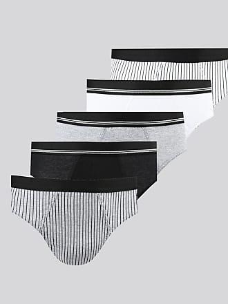 C&A Kit de 5 Cuecas Masculinas Slip Multicor