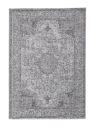 La Redoute Interieurs Teppich Eyden mit Used-Effekt, für drinnen und draussen - GRAU - LA REDOUTE INTERIEURS