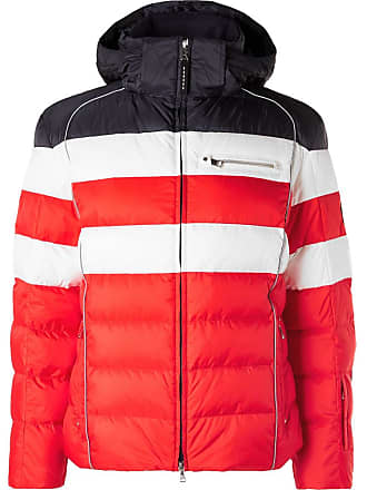 Bogner Tim Quilted Ripstop Hooded Down Ski Jacket - Red f0c4171ec