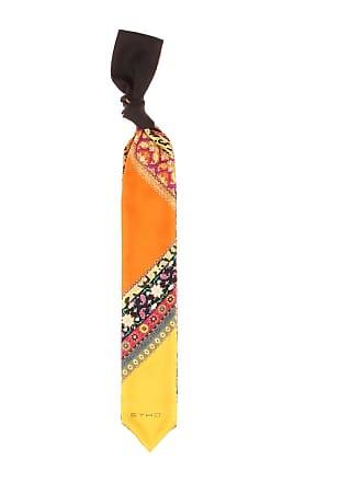 Etro Paisley-printed silk scarf