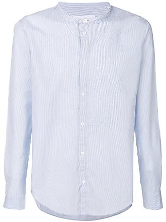 Dondup mandarin collar shirt - Blue