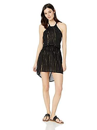 La Blanca Womens Smocked Waist Sleeveless Dress, Black // Glam Getaway, Extra Large