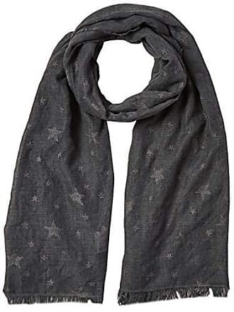 c7ca633707 Trussardi Pashmina Print Stars Viscous/Poliestere, Echarpe Homme, Noir  (K300/Black