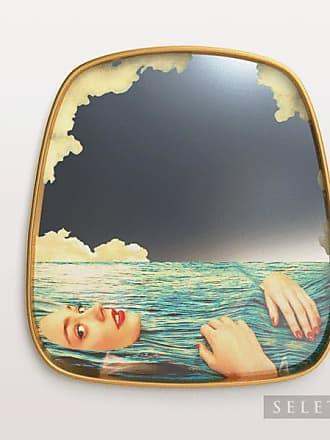 Seletti Floating Sea Girl Mirror Toilet Paper