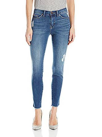 Lee Womens Modern Series Midrise Fit Anna Skinny Ankle Jean, Lakeshore, 0/Long