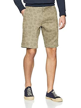 e4d3c2bfcb Springfield Linen Bermuda AOP Frq, Pantalones para Hombre, (Varios 98)  (Tamaño