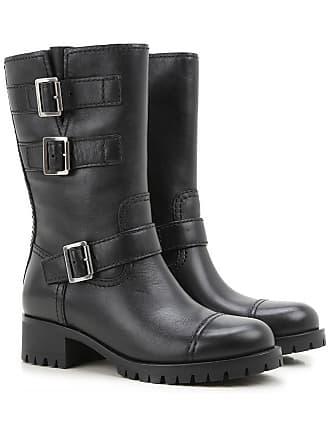 b3ec46d69cfd8 Damen-Stiefel in Schwarz von Prada®
