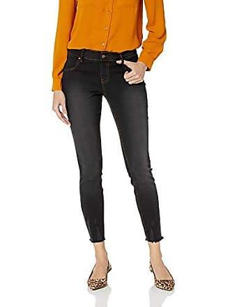 Hue Womens Ultra Soft Denim Jean Skimmer Leggings, Assorted, black Wash L