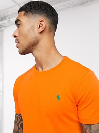Polo Ralph Lauren T-shirt arancione con logo