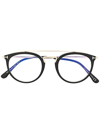 Tom Ford Eyewear round frame glasses - Black