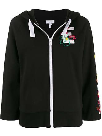 Escada Sport embroidered logo jacket - Preto