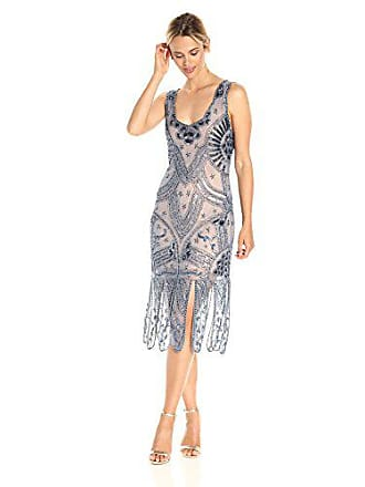 Unique Vintage Womens Sinclair Beaded Flapper Dress 7d4f3e0dd
