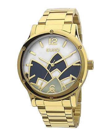 Euro Relógio Euro Analógico Feminino Aço Madrepérola Dourado - EU2035YCX 4D  Largura da Caixa ( b844901797