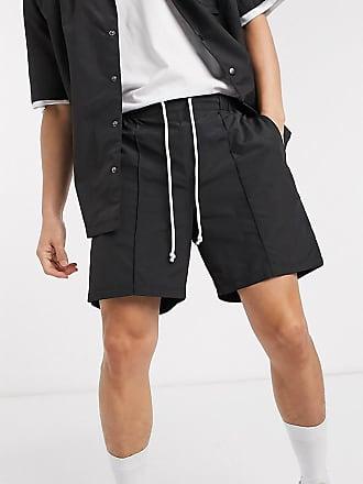 Collusion nylon shorts in black