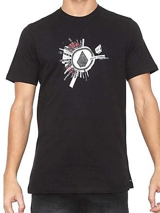 Volcom Camiseta Volcom Silk Slim Radiate Preta