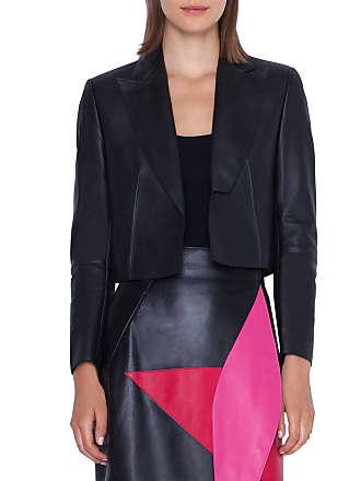 Akris Aita Leather Bolero Jacket