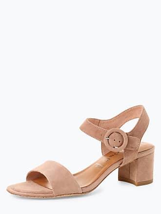 e716437dbd28a5 Tamaris Damen Sandaletten aus Leder rosa