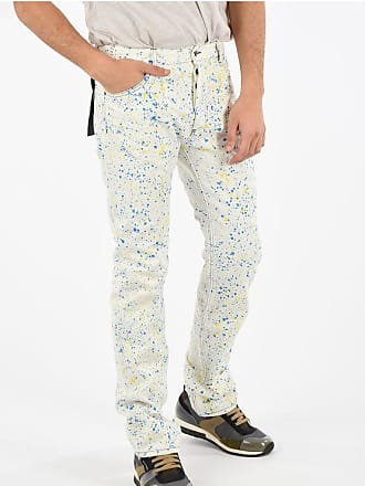 Palm Angels RECOVERY Painted straight fit jeans 22 cm size 34