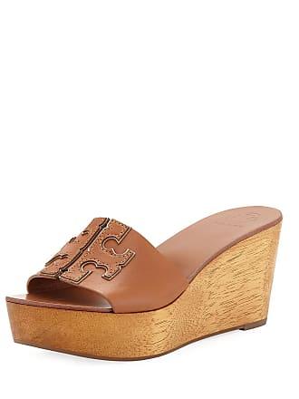 4158d443f08 Tory Burch Ines 80mm Wedge Slide Sandals