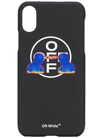 Off-white Capa para iPhone X Telepathy - Preto