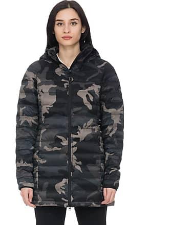 Canada Goose Black Label Brookvale Hooded Coat - Black Classic Camo