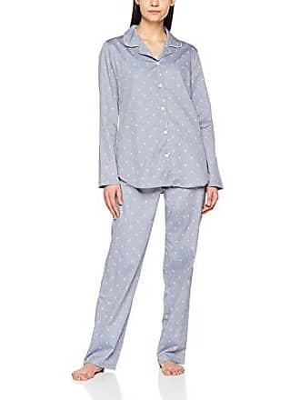 Seidensticker Damen Zweiteiliger Schlafanzug Pyjama lang 3d5608cddf182