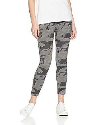 ae8efd61 Monrow Womens Sporty Legging with Camo Star, Dusty Olive, Extra Small