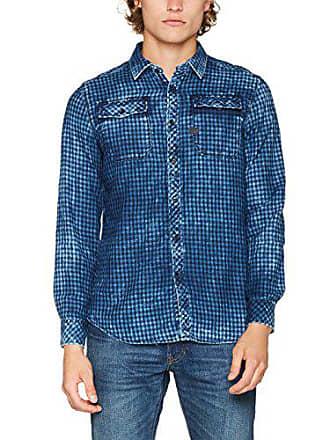 G-Star Landoh Shirt L s, Chemise Casual Homme, Bleu (Towel 7c6540fe6559