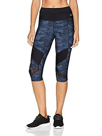 2(x)ist Womens Performance Capri Legging Pants, camo Blue, XS