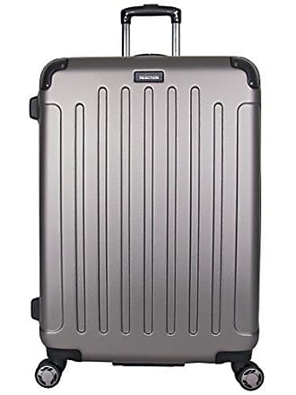 Kenneth Cole Reaction Kenneth Cole Reaction Renegade 28 Hardside Expandable 8-Wheel Spinner Checked Luggage, Silver