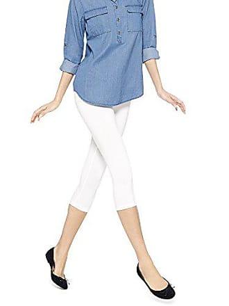 93db90d62c2f8 No Nonsense No nonsense Womens Cotton Capri Leggings, White, X-Large