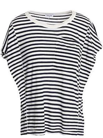 63dffef27e4dcf Splendid Splendid Woman Striped Jersey T-shirt Navy Size XS