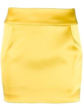 Alexandre Vauthier Saia lápis - Amarelo