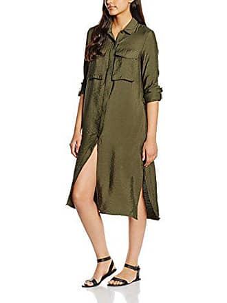 Only onlMARIAH Long Shirt Dress Otw-Vestito Donna Verde (Grape Leaf) 42 666c6694d4b