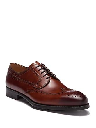 Magnanni Cruzan Brogue Dress Shoe - Wide Width Available