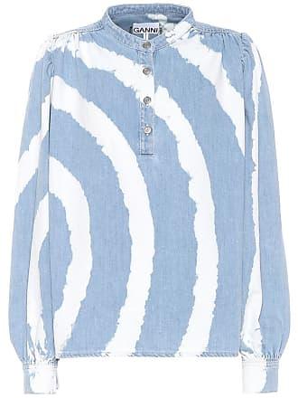 Ganni Soft cotton denim shirt