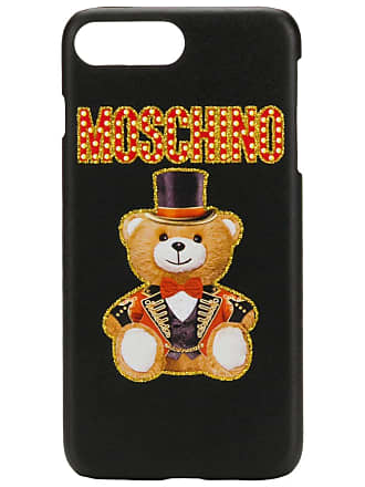 Moschino teddy iPhone cover - Black