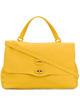 Zanellato twist lock tote bag - Amarelo