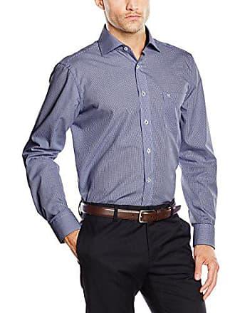 70d0106c41cd Casamoda 6360 - Chemisier Business Coupe Droite Homme - Bleu (101) - 39