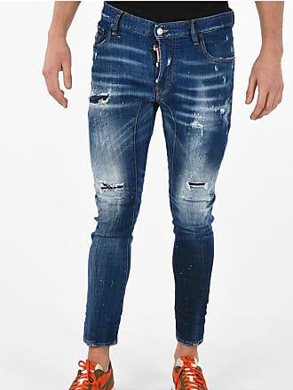 Dsquared2 16 cm Vintage Effect TIDY BIKER Jeans size 52