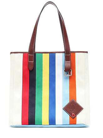 J.W.Anderson Leather-trimmed canvas tote