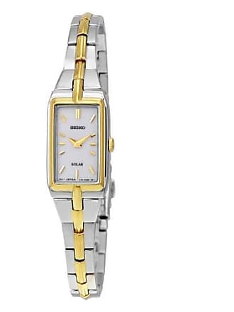Seiko SUP272 Womens Silver & Gold Seiko Core Solar Watch